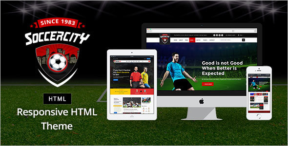 Sports News HTML Template