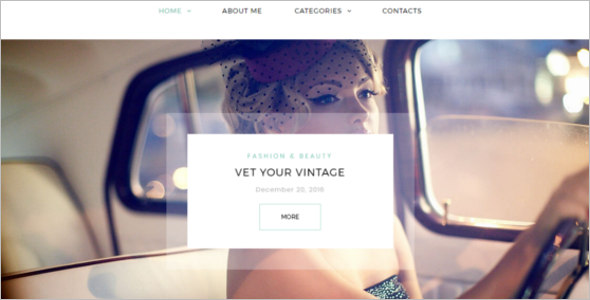 Stunning Blog Theme