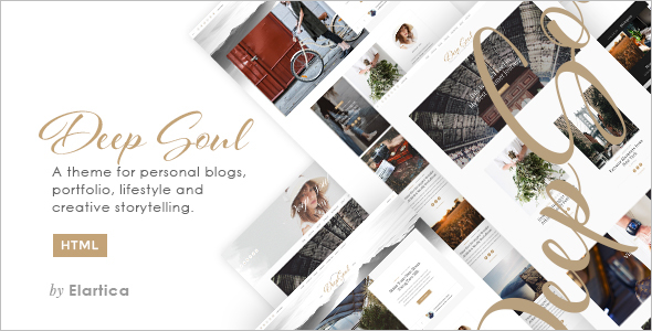 Stylish Blog Template