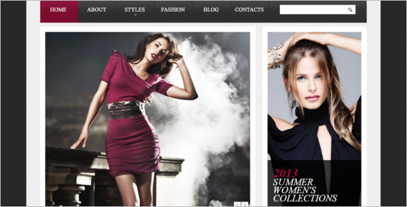 Stylish Fashion Drupal Theme