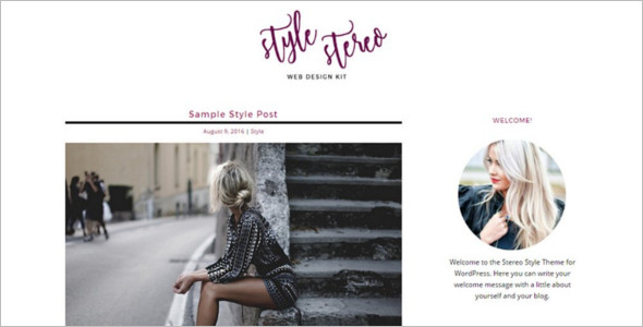Stylish Fashion Store WordPress Theme
