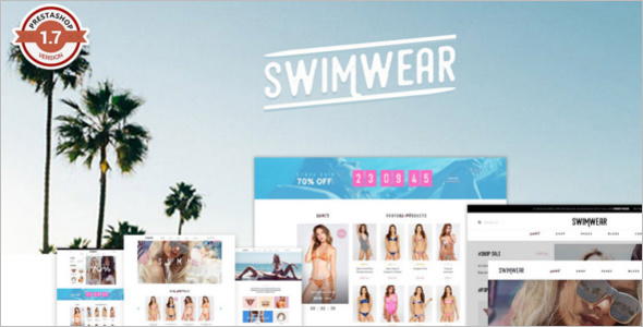 Swimwear Prestashop Theme