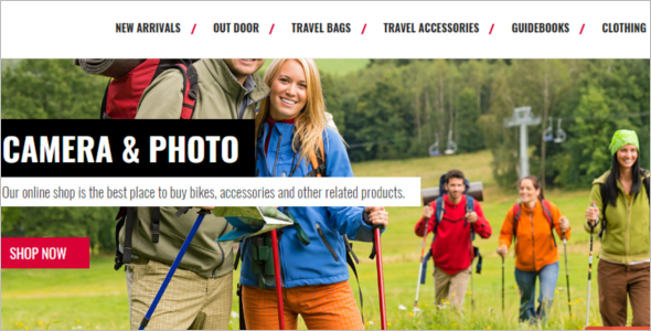 Travel Magento Theme