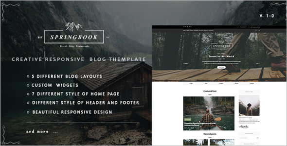 Travel Photography Template