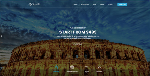 Travel Tour WordPress Theme
