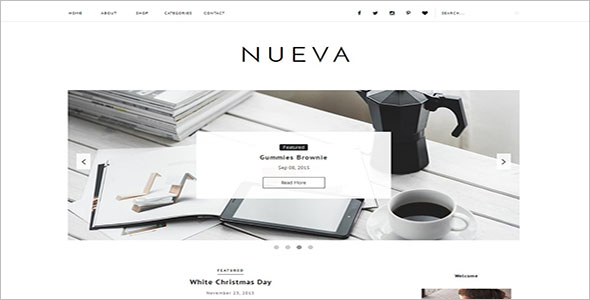 Website Blogger Template