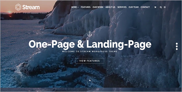 WordPress Landing Page Template