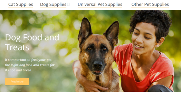 Animal Store Magento Template