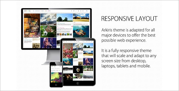 Animated Single Page WordPress Theme