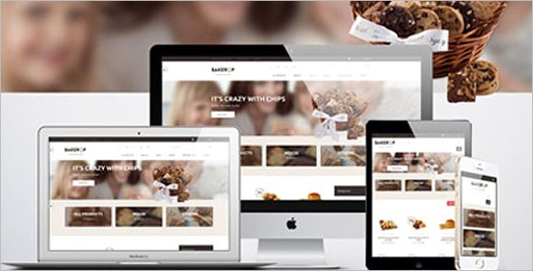 Bakery Food Magento Template