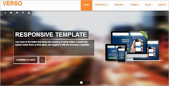 Basic Bootstrap Blog Template
