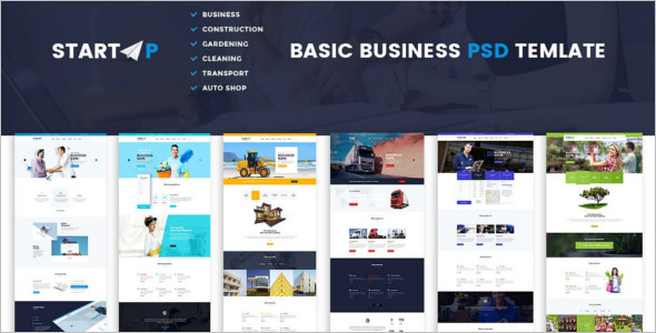 Basic Company Website Template