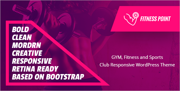 Beauty Fitness Website Theme