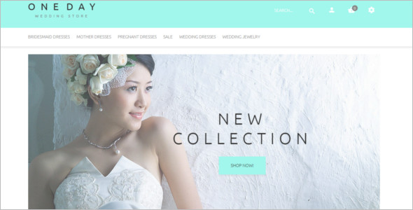 Best Bridal Collection OpenCart Theme