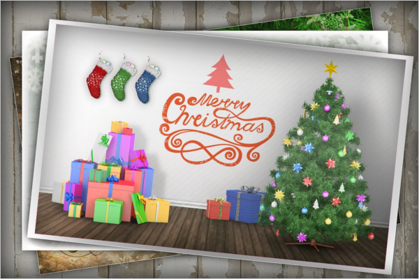Best Christmas Tree Mockup Template