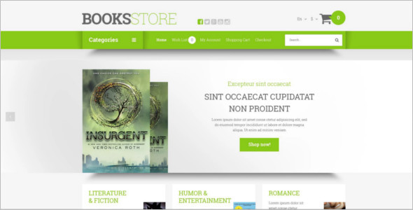Best Educational Book Store Template