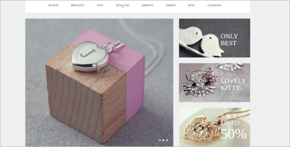 Best Jewelry Collection VirtueMart Theme