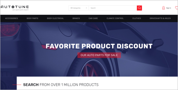 Best Prestashop Car Theme
