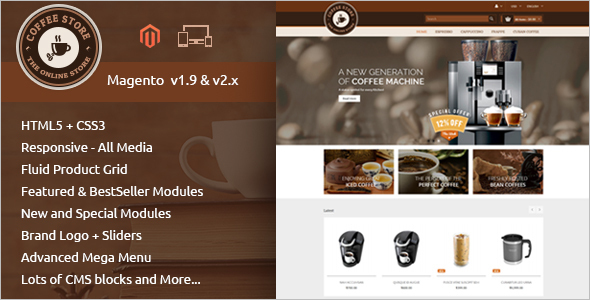 Best Restaurant Magento Template
