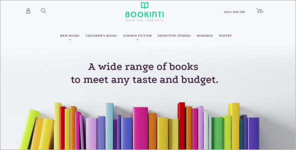 Book Shop PrestaShop Theme
