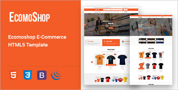 Bootstrap E-Commerce Template