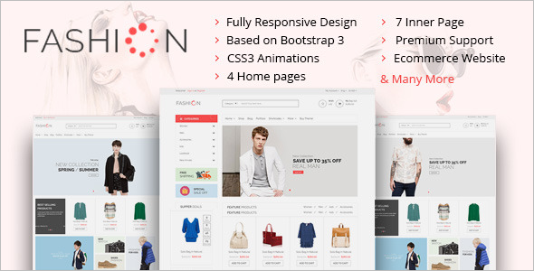 Boutique Online Website Template