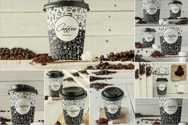 Branding Coffee Mockup Template