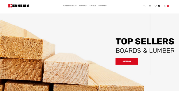 Building Material Business Magento Theme