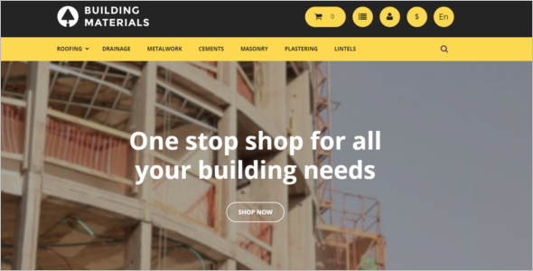 Building Materials PrestaShop Theme