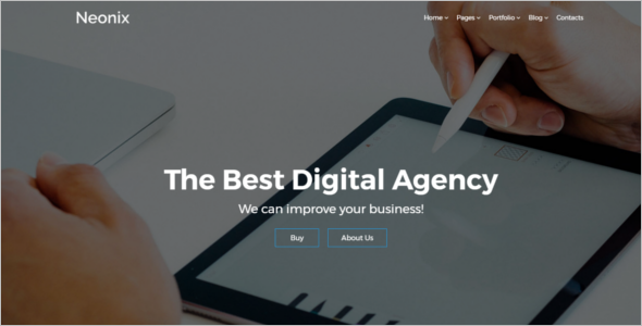 Business Agency Web Template