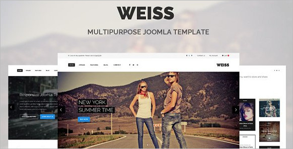 Business Company Joomla Website Template