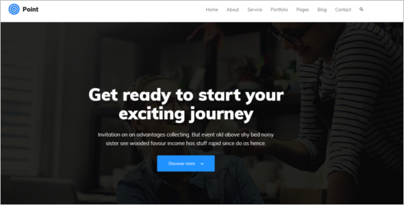 Business HTML Website Template