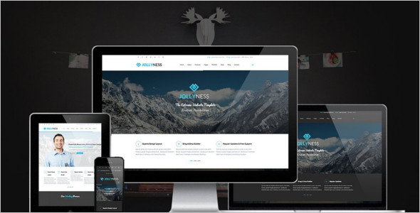 Business Joomla Website Template Model