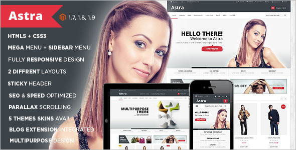 Business Magento Store Template
