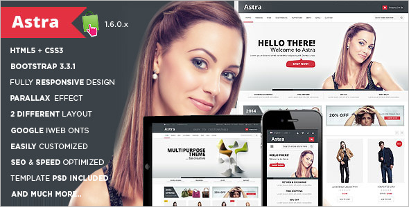 Business Prestashop Template