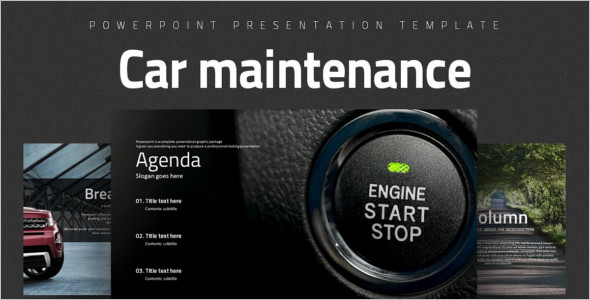 Car Maintenance Website Template
