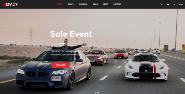 Car Prestashop Theme
