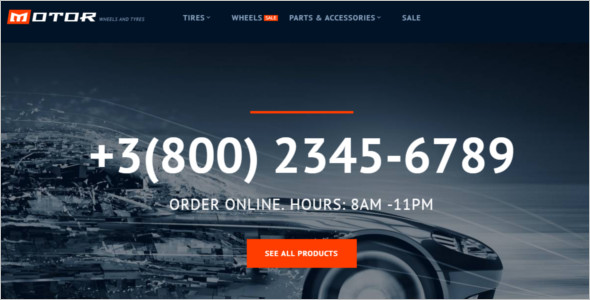 Car Services Magento Template