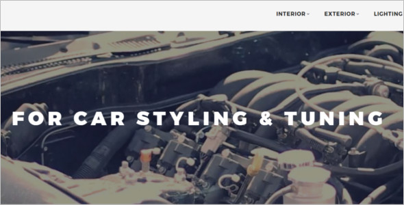 Car Tuning Magento Template