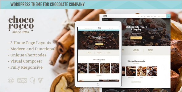Catering Company Website Template