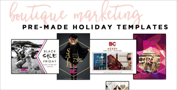 Christmas Boutique website Template