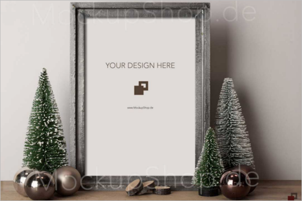 Christmas Tree Mockup Download