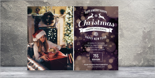 Christmas Website Session Template