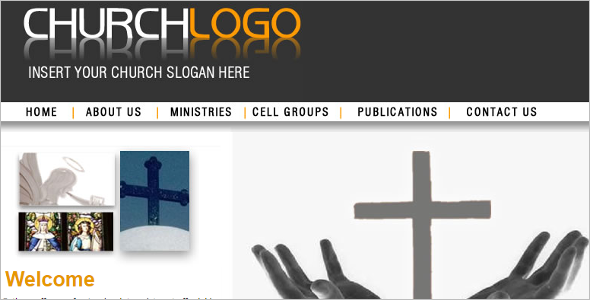 Church Logo Website Theme