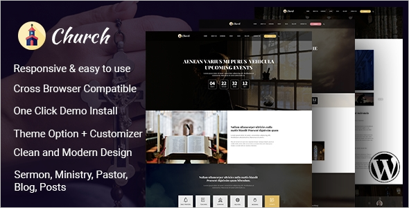 Church Website Builder Theme