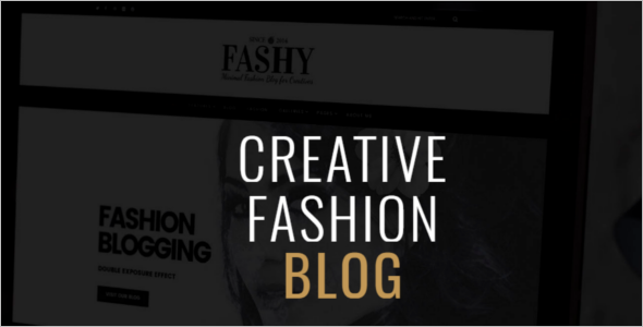 Classic Fashion Blog Theme