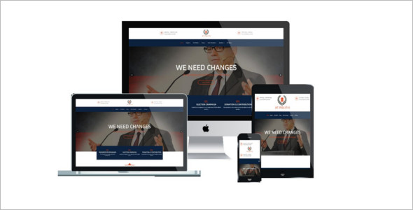Clean Political Joomla Template