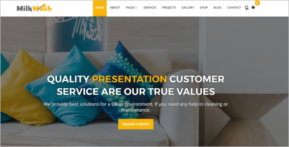 Cleaning Services Business Template