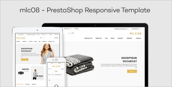 Cloth PrestaShop 1.6 Theme