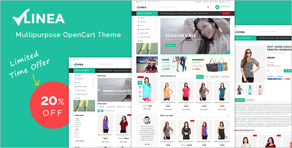 Clothing Store Opencart Theme